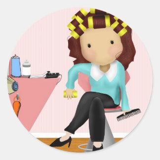 Hairdresser Sticker