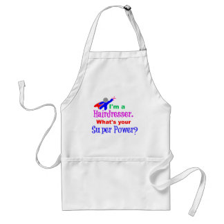Hairdresser Superhero Standard Apron