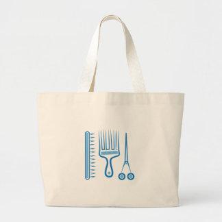 Hairdresser Tools Jumbo Tote Bag