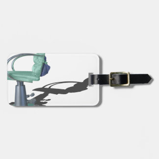 HairDresserChair080214 copy.png Bag Tag