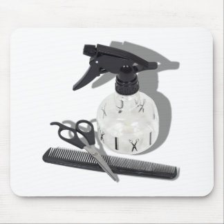 HairdresserItems060910Shadows Mouse Pad