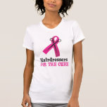 Hairdressers Black and Pink T-shirts