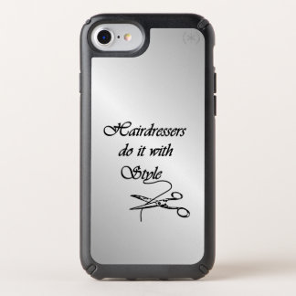 Hairdressers Do It With Style iPhone 10 Speck iPhone Case
