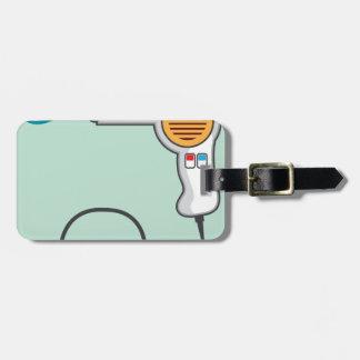 Hairdryer Luggage Tag