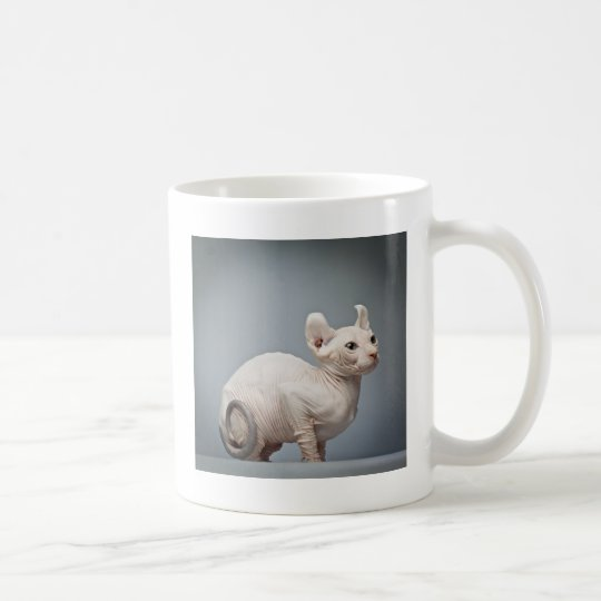 HAIRLESS CAT COFFEE MUG