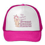 Hairless Hare is Breast Cancer Aware Hat