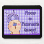 Hairless Hare Phooey on Pancreatic Cancer Mouse Pad