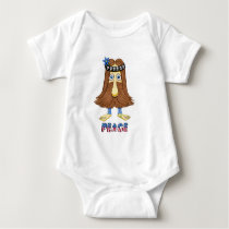hairPeace  (The Hollyweirdos Collection) Baby Bodysuit