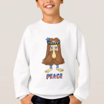 hairPeace  (The Hollyweirdos Collection) Sweatshirt