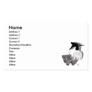 HairRollersWaterSprayer060910shadows, Name, Add... Business Card