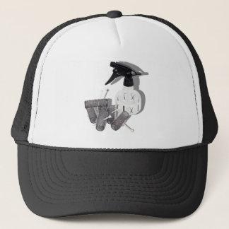 HairRollersWaterSprayer060910shadows Trucker Hat