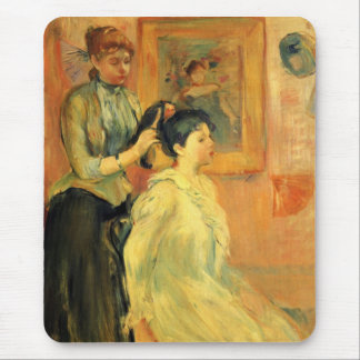 Hairstyle by Berthe Morisot Mouse Pad