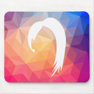 Hairstyle Cuts Symbol Mouse Pad