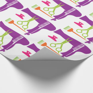 Hairstyle tools wrapping paper