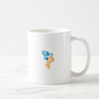 Hairstyle with droplets mugs