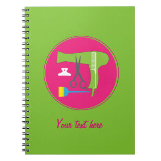 Hairstyles tools notebook