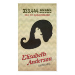 Hairstylist Beauty Salon Appointment Reminder Card Business Card Template