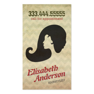 Hairstylist Beauty Salon Appointment Reminder Card Double-Sided Standard Business Cards (Pack Of 100)