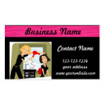 Hairstylist Beauty Salon business card
