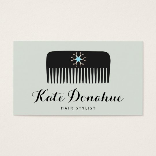 Hairstylist comb scissors white hair salon business card zazzle hairstylist comb scissors white hair salon business card colourmoves