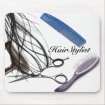 hairstylist mouse pad