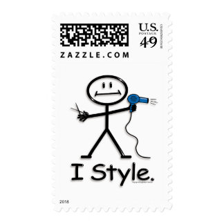 HairStylist Postage Stamp