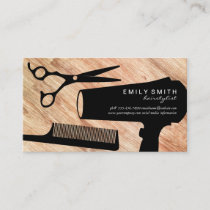Hairstylist Tools Wood Appointment