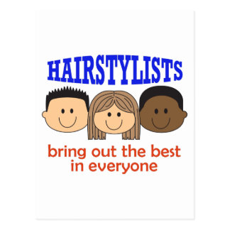 HAIRSTYLISTS BRING OUT THE BEST POSTCARD