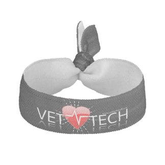 hairtie del ekg de la tecnología del veterinario banda para el cabello