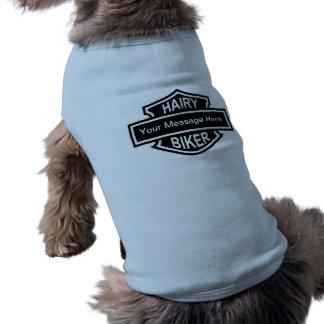 HAIRY BIKER Custom Dog Shirt