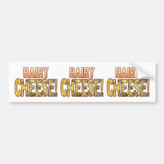 Hairy Blue Cheese Bumper Sticker