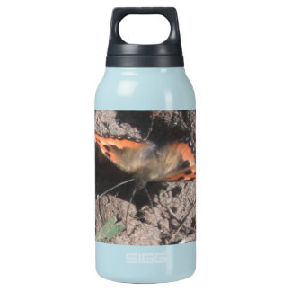 Hairy Butterfly Dirt Foraging Thermos Water Bottle