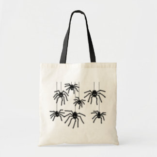Hairy Cartoon Spiders Bag