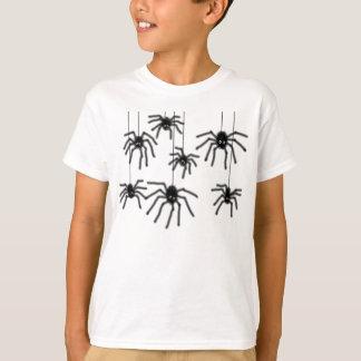 Hairy Cartoon Spiders Kids T-Shirt