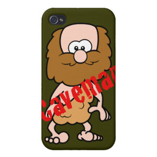 Hairy Caveman Case For iPhone 4