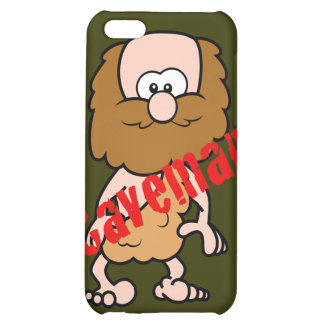 Hairy Caveman Case For iPhone 5C