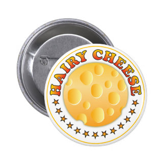 Hairy Cheese R Button