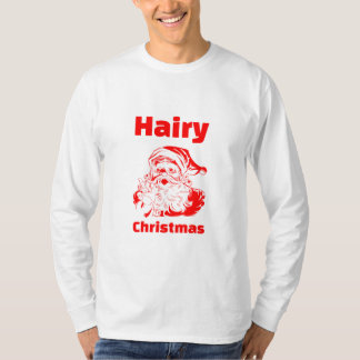 Hairy Christmas Red Santa Claus Dresses
