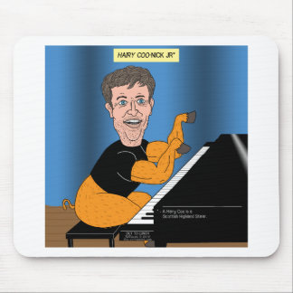 Hairy Coo Confusion Mouse Pad