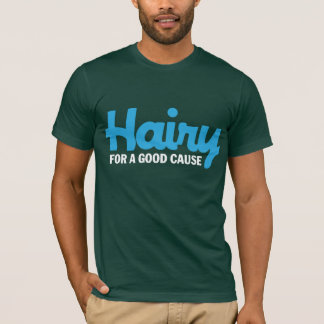 Hairy For A Good Cause 2 Dark T-shirt