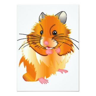Hairy Hamster Card