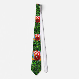 Hairy Holiday Makers Tie