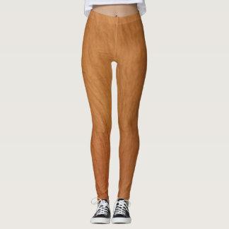 Hairy legs leggings
