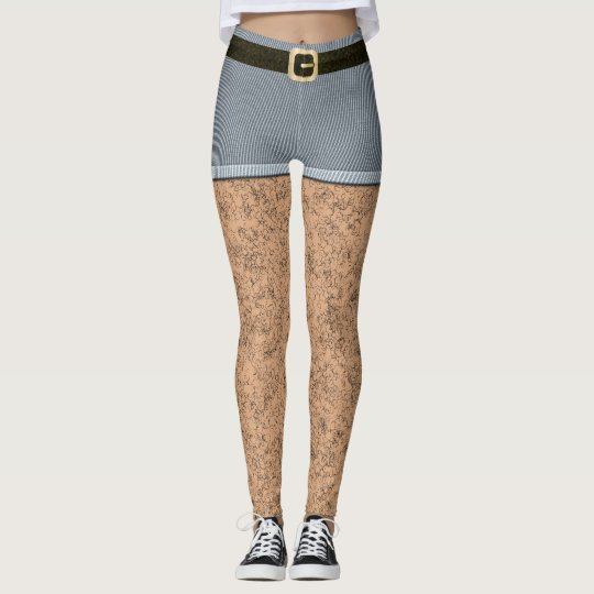 Hairy Legs Leggings Zazzle Com