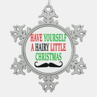Hairy Little Christmas Ornament