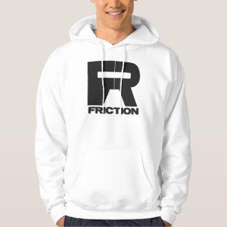 Hairy logo hoodie