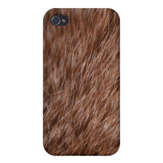 Hairy print on a case! Original close-up print! iPhone 4/4S Cover
