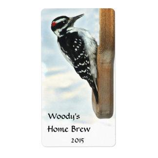 Hairy Woodpecker Beer Label