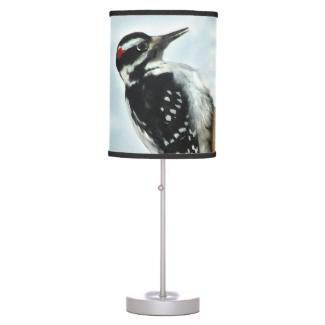 Hairy Woodpecker Lamp