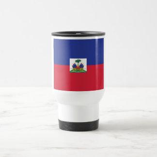 Haitain Flag Travel Mug